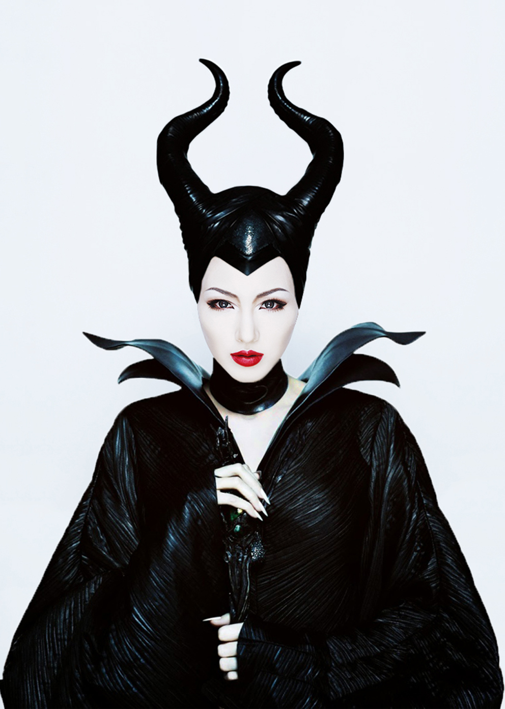 HEILEY'S MAKEUP TUTORIAL MALEFICENT