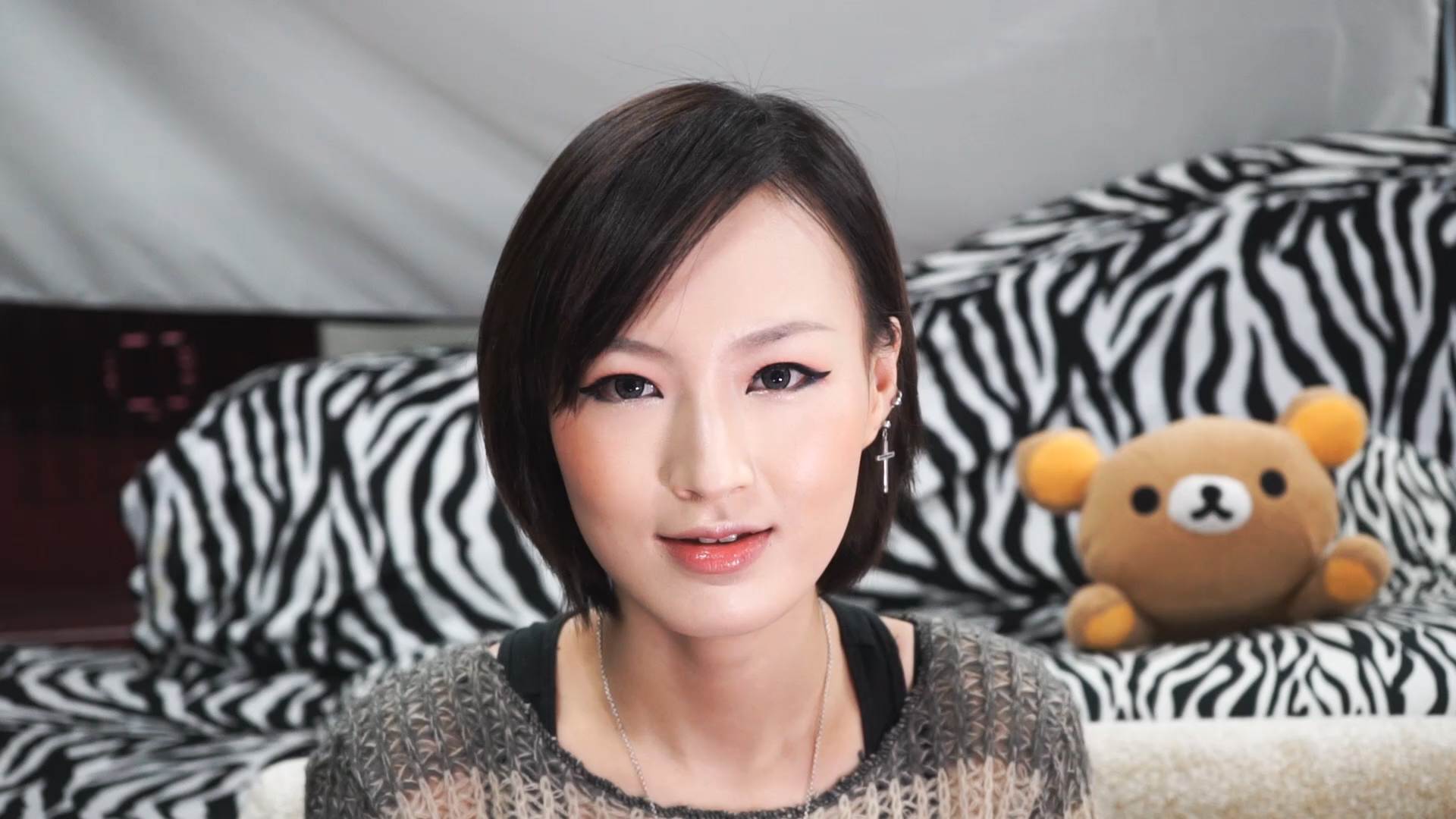 ORANGE BLING BLING MAKEUP TUTORIAL