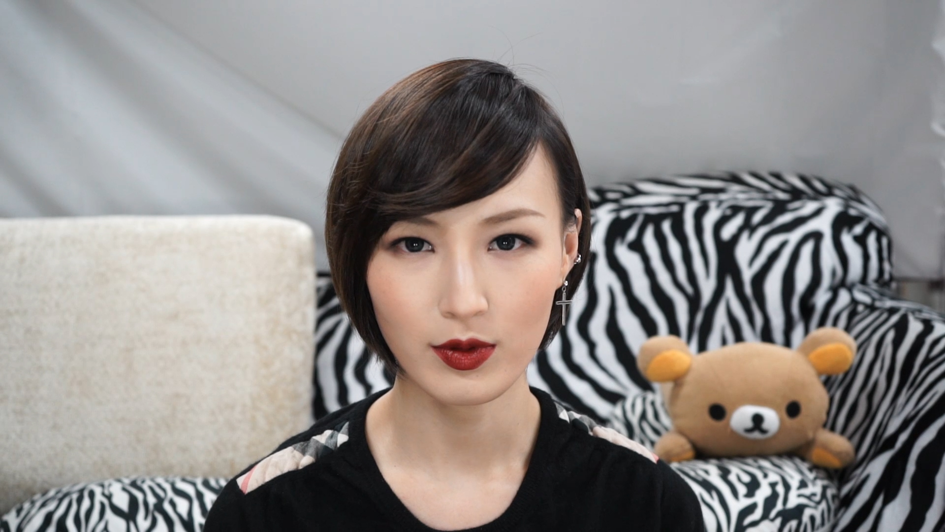 SMOKEY RED MAKEUP with Heiley(sub)