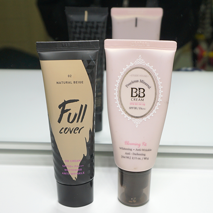 Etude House Precious Mineral BB Cream Review, ARITAUM Full cover BB Cream Review