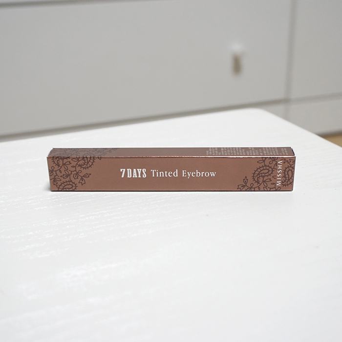 Missha 7 Days Tinted Eyebrow Review