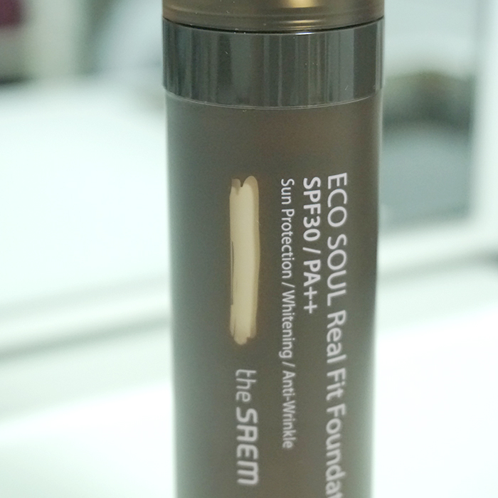 the SAEM Eco Soul Real Fit Foundation REVIEW