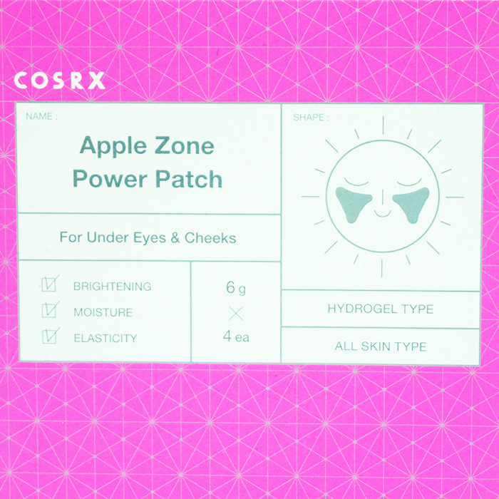 COSRX Apple Zone Power Patch REVIEW