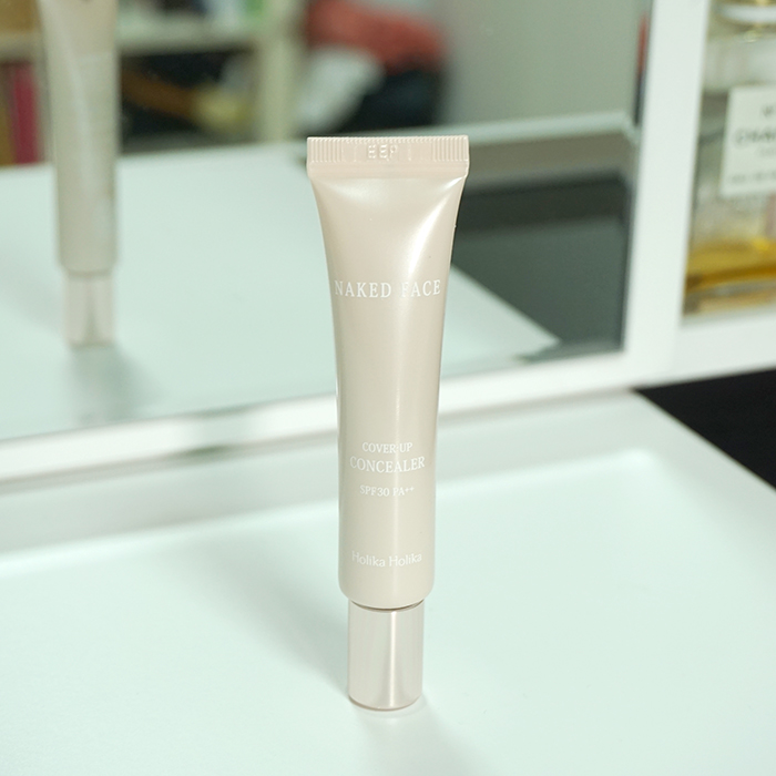 Holika Holika Naked Face Cover Up Concealer REVIEW