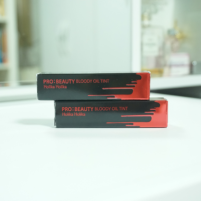 Holika Holika Pro Beauty Bloody Oil Tint REVIEW