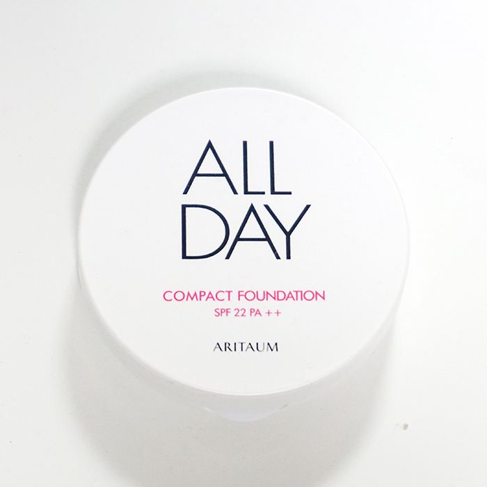 ARITAUM All Day Compact Foundation REVIEW