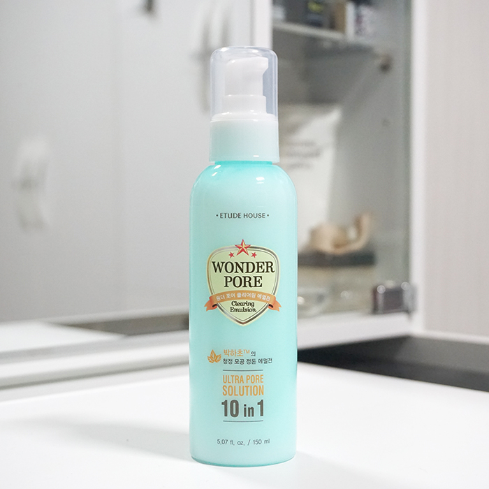 ETUDE HOUSE Wonder Pore Clearing Emulsion REVIEW