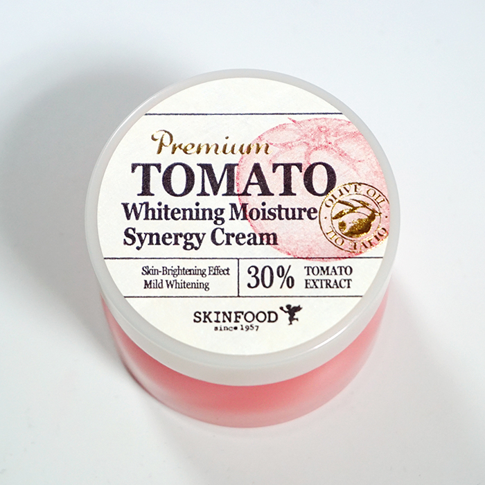 SKINFOOD Premium Tomato Whitening Moisture Synergy Cream REVIEW