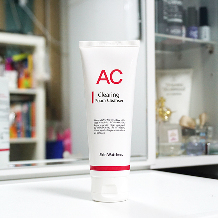 Skin Watchers AC Clearing Foam Cleanser REVIEW
