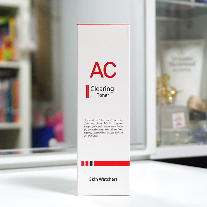 Skin Watchers AC Clearing Toner REVIEW