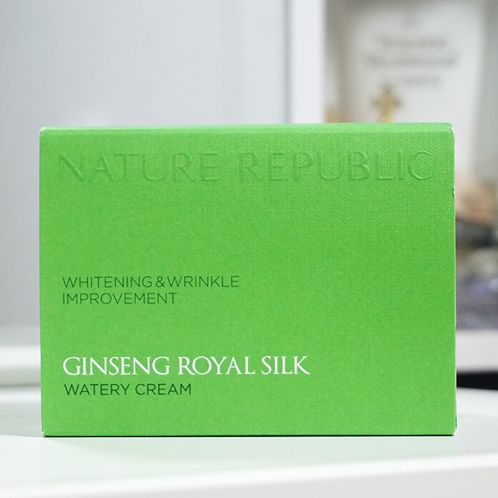 NATURE REPUBLIC Ginseng Royal Silk Watery Cream review