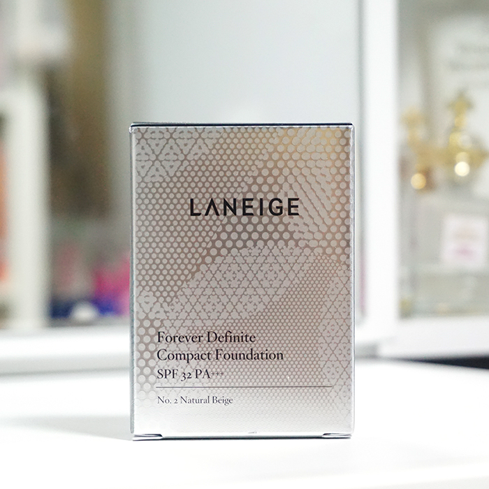 LANEIGE Forever Definite Compact Foundation SPF32 PA+++ review