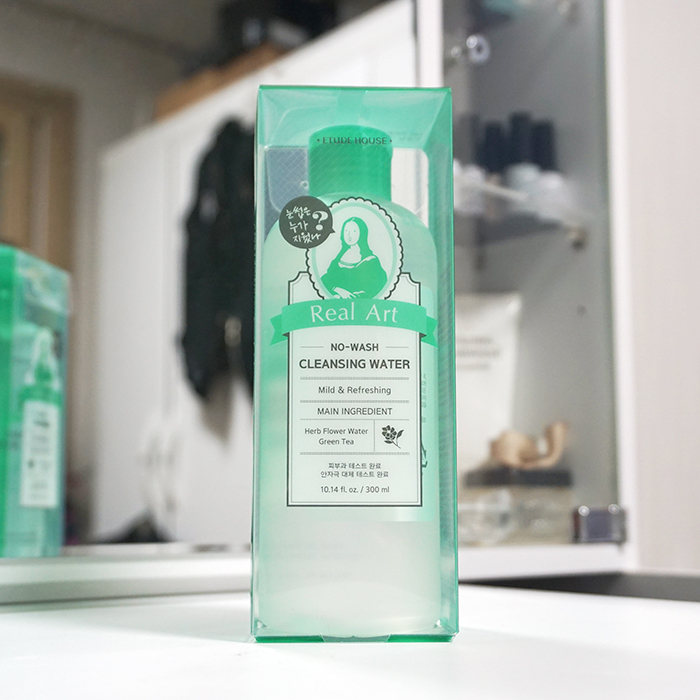 Etude House Real Art No Wash Cleansing Water review