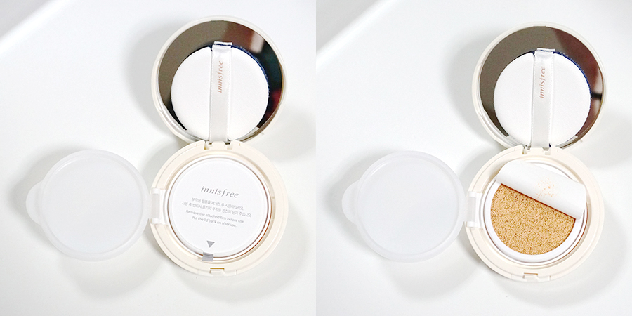 Innisfree Long Wear Cushion SPF50+ PA+++ review