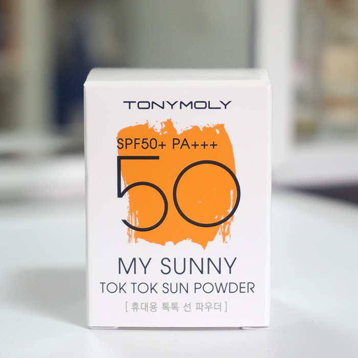 TONYMOLY My Sunny Tok Tok Sun Powder SPF50+ PA+++ review