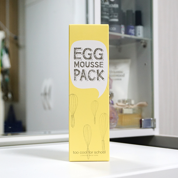 Too Cool For School Egg Mousse Pack review