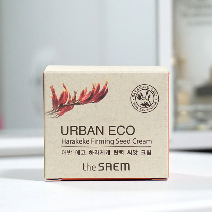 the SAEM Urban Eco Harakeke Firming Seed Cream review