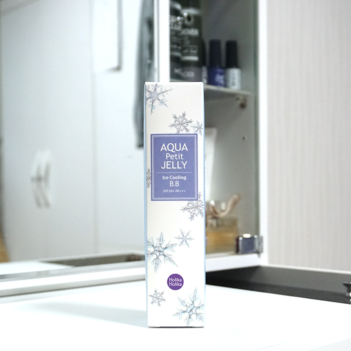 Holika Holika Aqua Petit Jelly Ice Cooling BB review