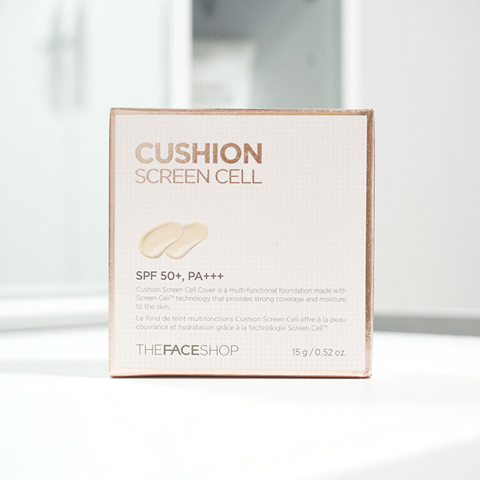 The Face Shop Cushion Screen Cell Cover SPF50+ PA+++ REVIEW
