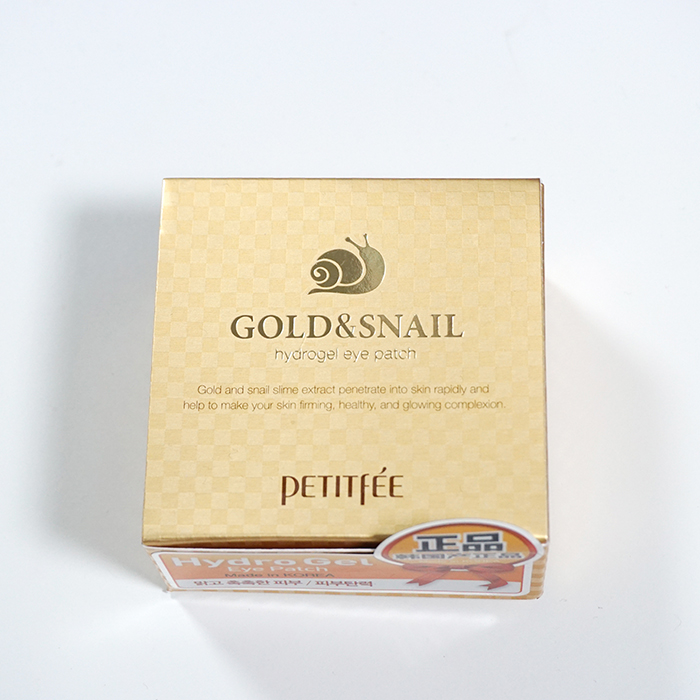 PETITFEE Gold & Snail Eye Patch review