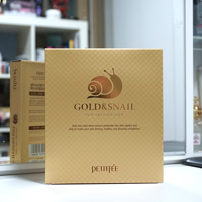 PETITFEE Gold & Snail Mask Pack review