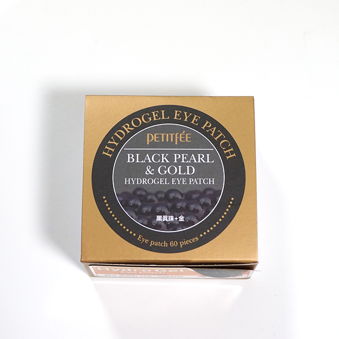 PETITFEE Black Pearl & Gold Eye Patch review