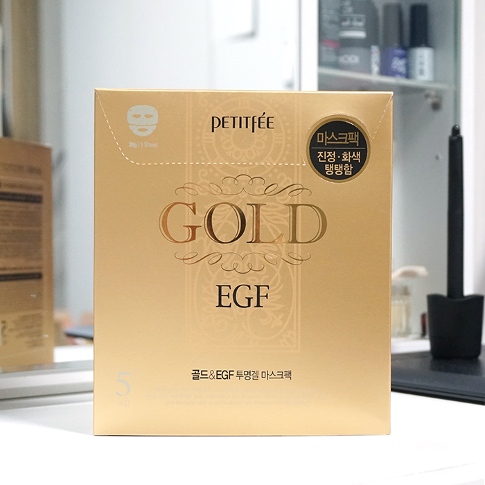 PETITFEE Gold & EGF Mask Pack review