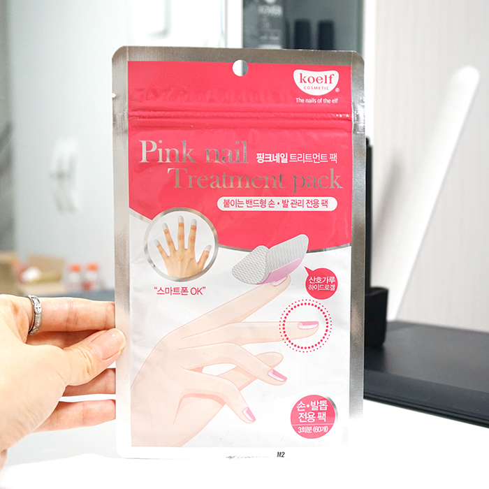 Koelf Pink Nail Treatment Pack review