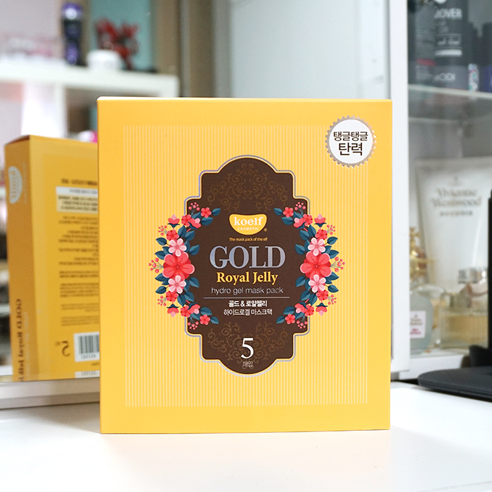 Koelf Gold Royal Jelly Mask Pack review