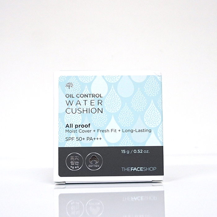 The Face Shop Oil Control Water Cushion SPF50+ PA+++ review