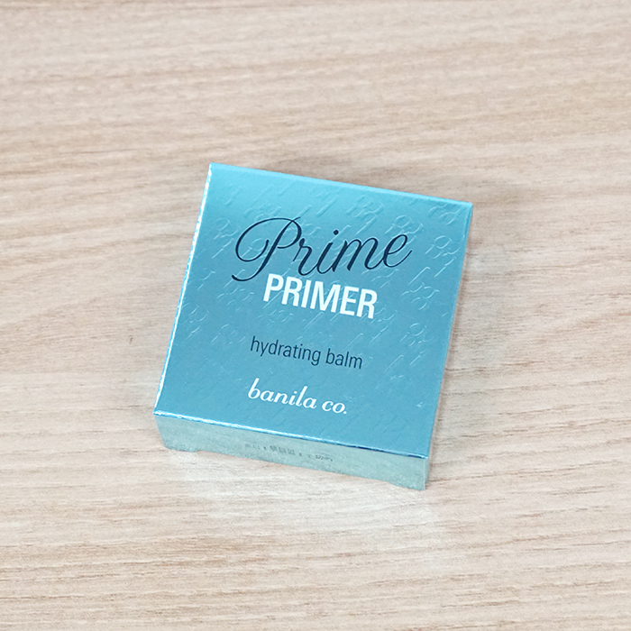 banila co. Prime Primer Hydrating Balm review