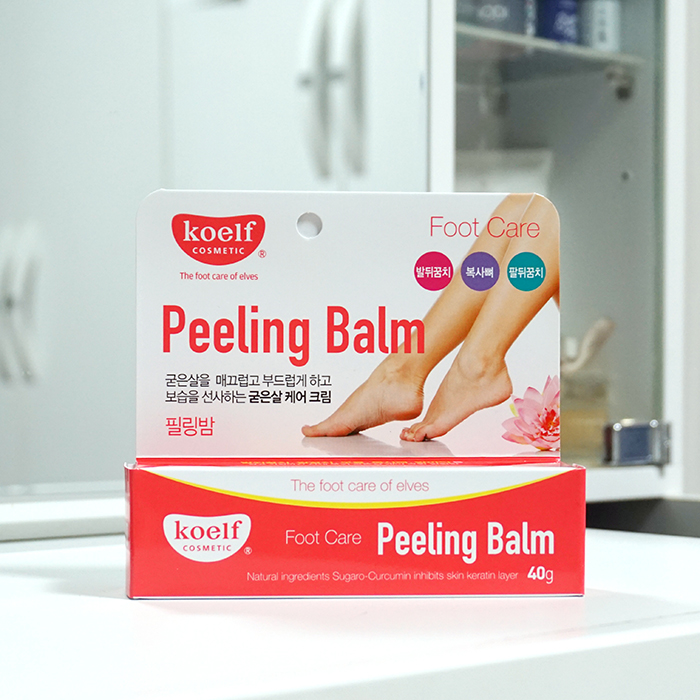 Koelf Peeling Balm review