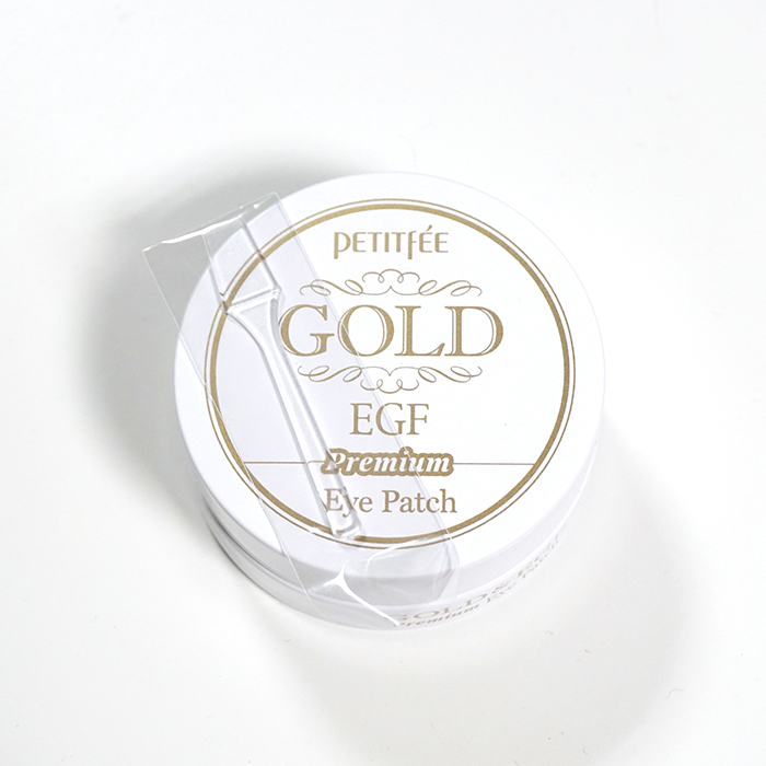 PETITFEE Premium Gold EGF Eye Patch review