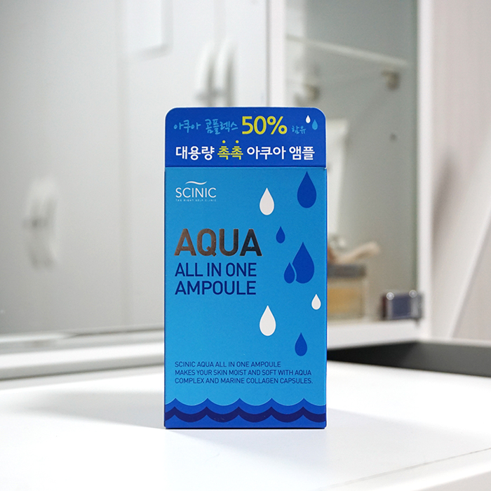 SCINIC Aqua All In One Ampoule review