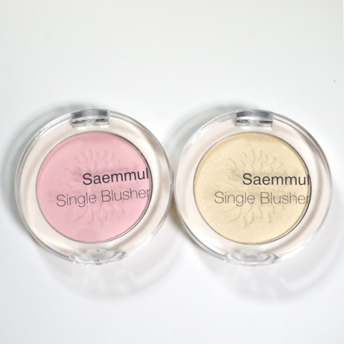 the SAEM Saemmul Single Blusher review