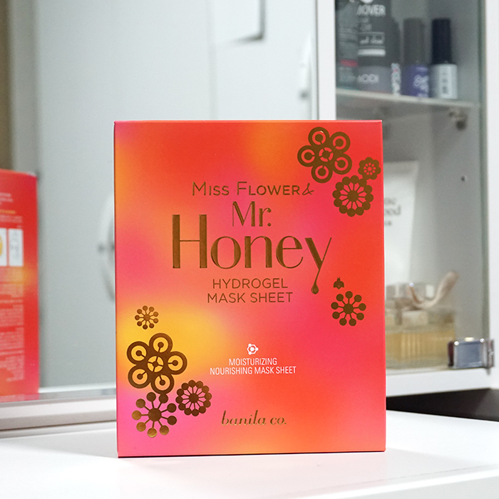 banila co. Miss Flower & Mr. Honey Hydrogel Mask Sheet review