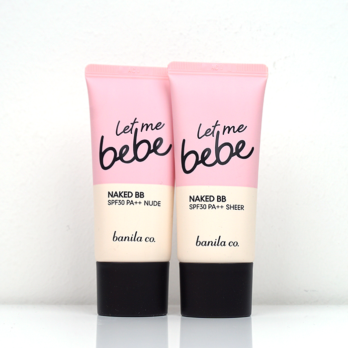 banila co. Let Me Bebe Naked BB SPF30 PA++ review