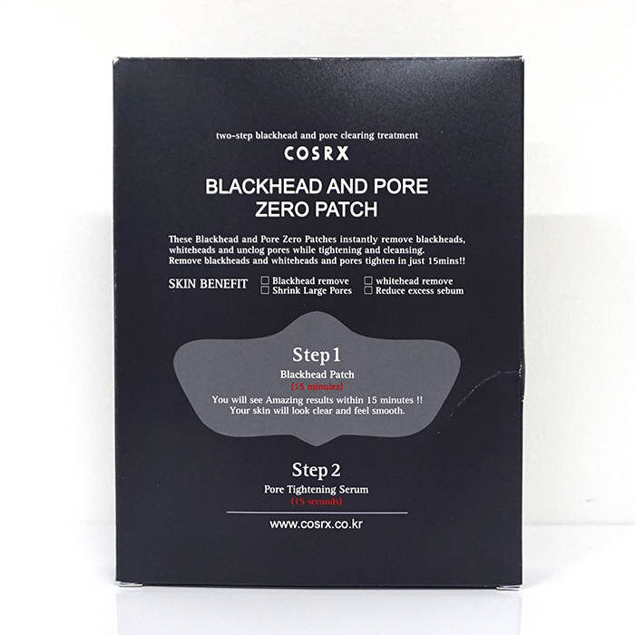 COSRX Blackhead And Pore Zero Patch review