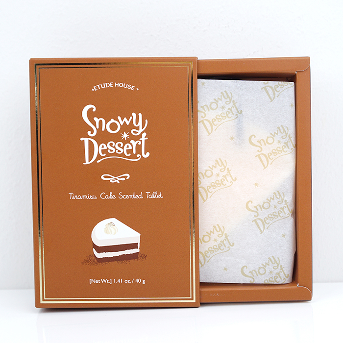 ETUDE HOUSE Snowy Dessert Scented Tablet review