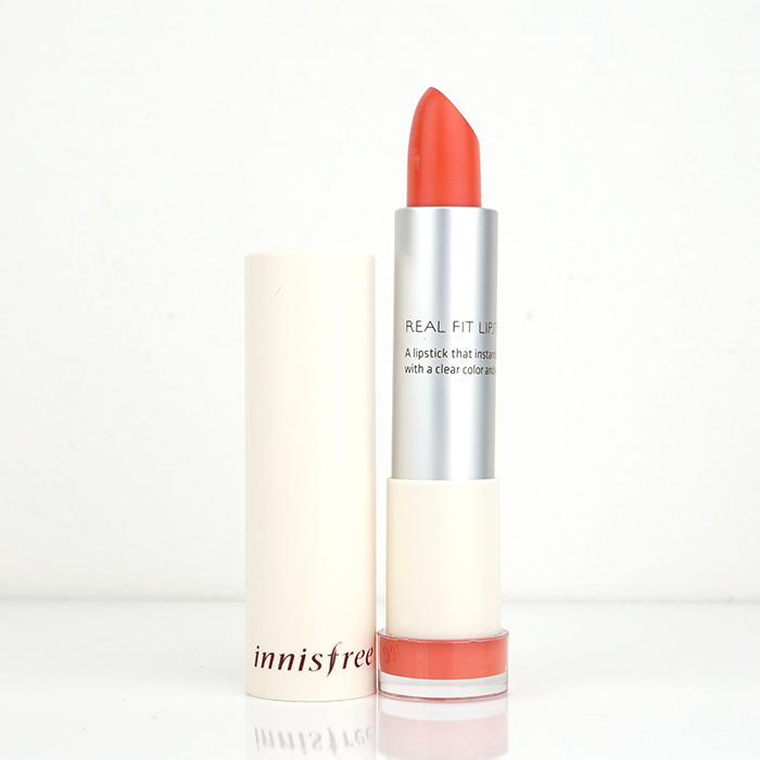 Innisfree Real Fit Lipstick Limited Edition review