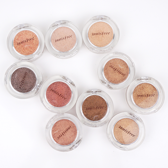 Innisfree Mineral Single Shadow Glitter Limited Edition review