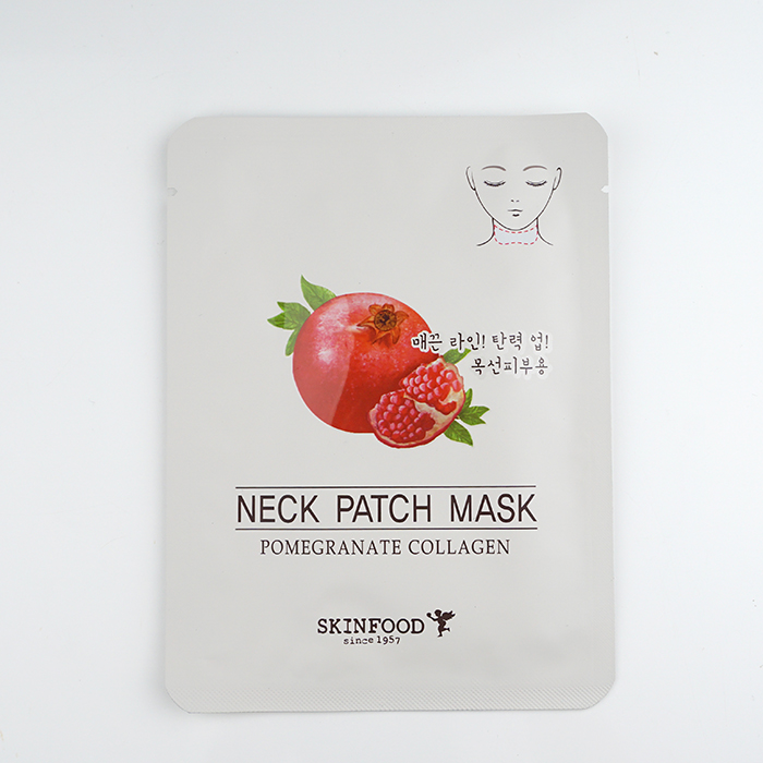 SKINFOOD Pomegranate Collagen Neck Patch Mask review