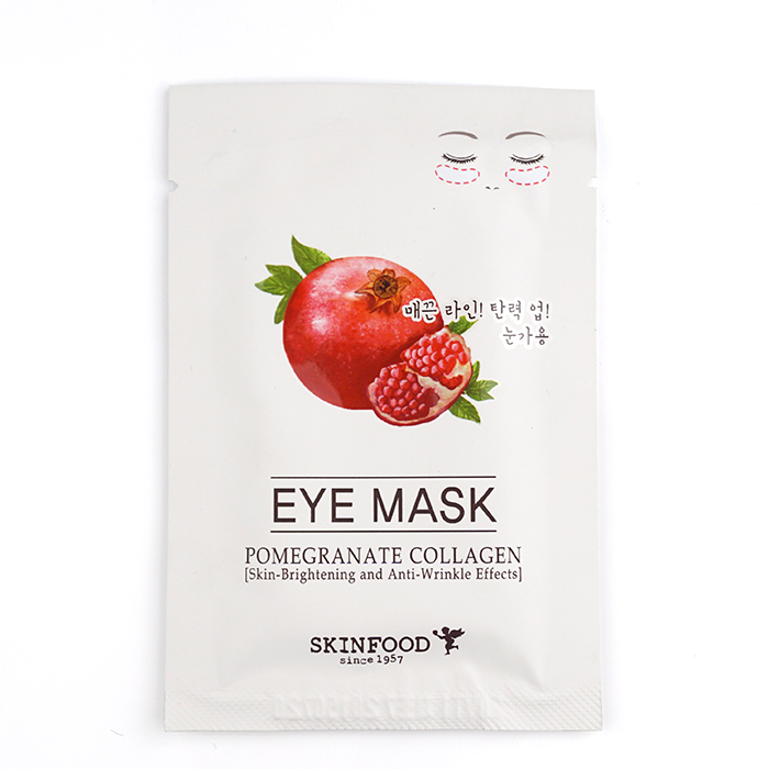 SKINFOOD Pomegranate Collagen Eye Mask review