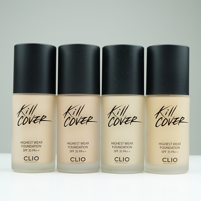 CLIO Kill Cover Highest Wear Foundation review