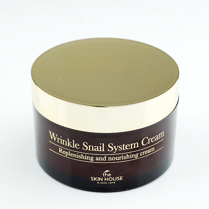 the SKIN HOUSE Wrinkle Snail System Cream review