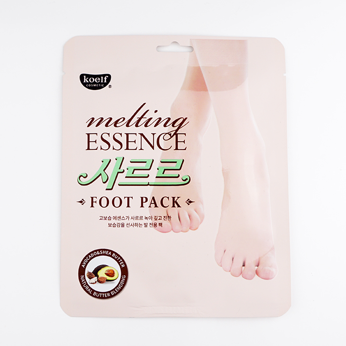 Koelf Melting Essence Foot Pack review