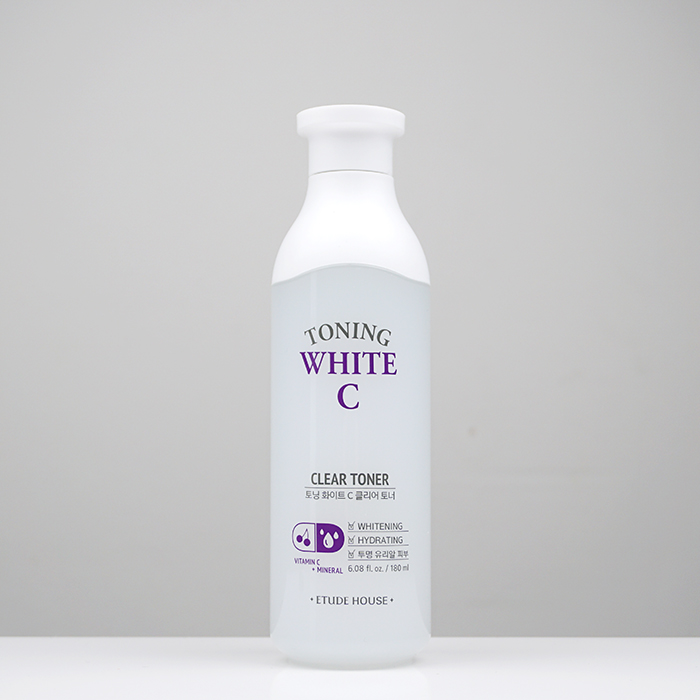 ETUDE HOUSE Toning White C Clear Toner review