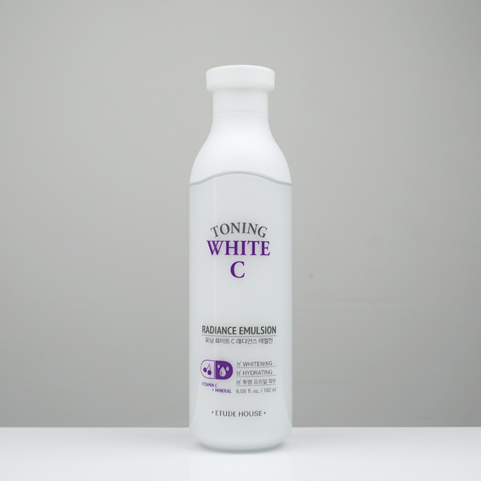 ETUDE HOUSE Toning White C Radiance Emulsion review
