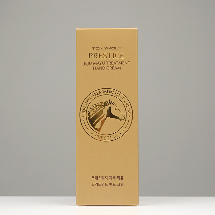 TONYMOLY Prestige Jeju Mayu Treatment Hand Cream review