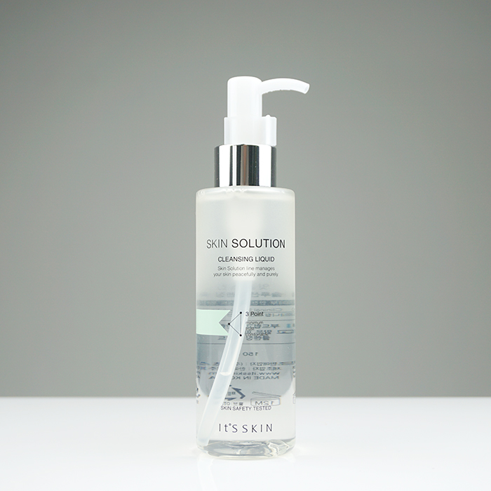 It'S SKIN Skin Solution Cleansing Liquid review